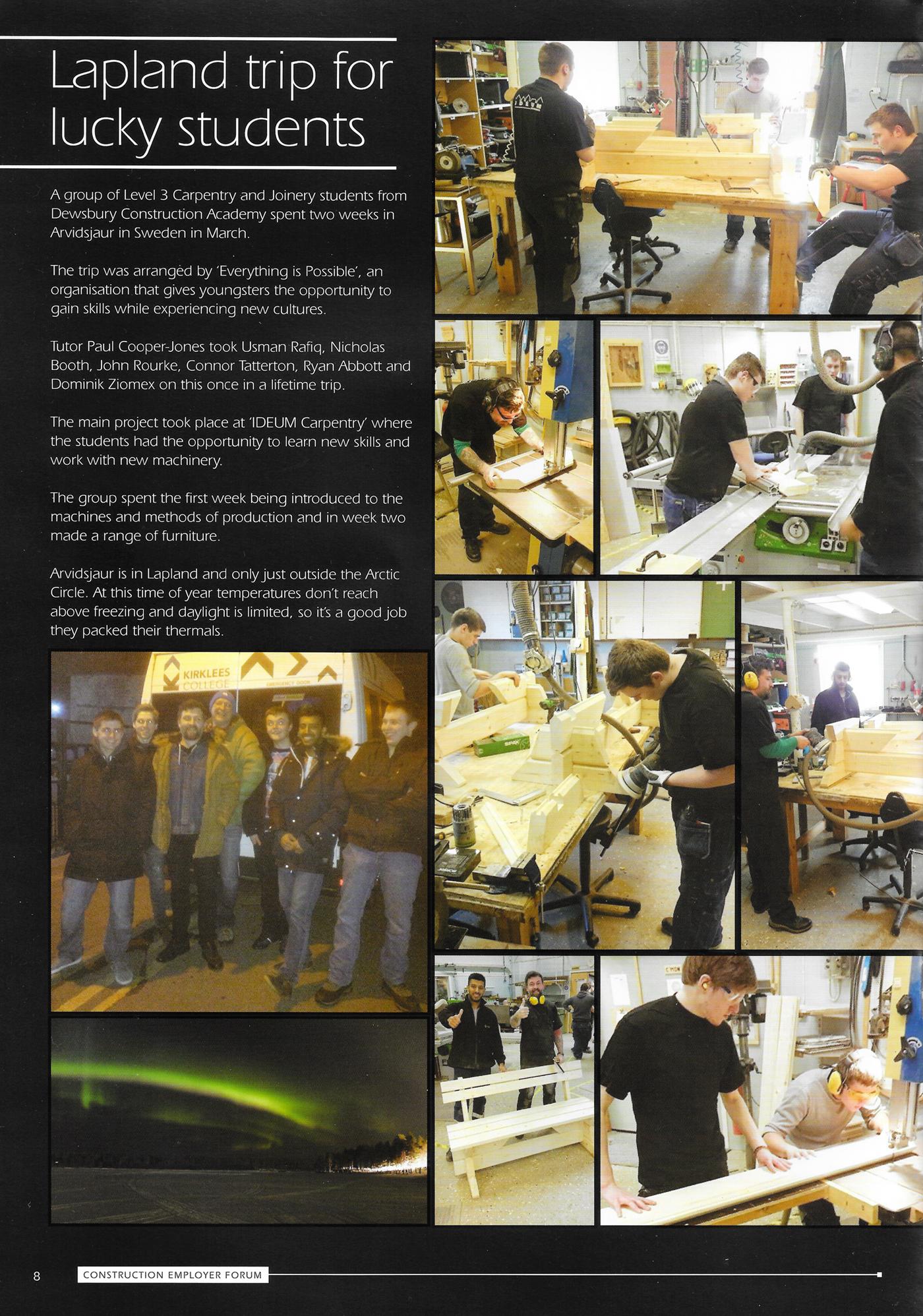 Kirklees College Magazine lq